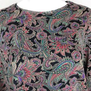Lauren Ralph Lauren Tops - Lauren Ralph Lauren Floral Leaf Print Blouse